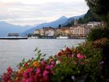 Town of Bellagio and Lake Como, Lombardy, Italian Lakes, Italy, Europe Fotografisk trykk av Frank Fell