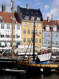 Nyhavn, Copenhagen, Denmark, Scandinavia, Europe Fotografie-Druck von Frank Fell