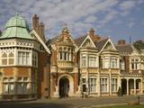 The Mansion, Bletchley Park, the World War Ii Code-Breaking Centre, Buckinghamshire, England, Unite Fotografisk trykk av Rolf Richardson