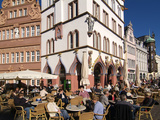 Market Square, Old Town, Trier, Rhineland-Palatinate, Germany, Europe Impressão fotográfica por Hans Peter Merten