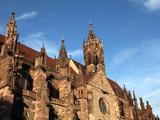 Freiburg Minster, Freiburg, Baden-Wurttemberg, Germany, Europe Impressão fotográfica por Hans Peter Merten