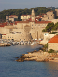 Old Town in Early Morning Light, UNESCO World Heritage Site, Dubrovnik, Croatia, Europe Photographic Print by Martin Child