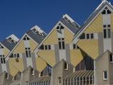 Cubic House (Kubuswoningen), Designed by Piet Blom, Rotterdam, Netherlands, Europe Reproduction photographique par Ethel Davies