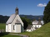 Loretto Chapels, Oberstdorf, Allgau, Bavaria, Germany, Europe Impressão fotográfica por Hans Peter Merten