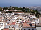 White Village of Mijas Near Torremolinos, Andalusia, Spain, Europe Impressão fotográfica por Hans Peter Merten