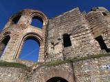 Roman Ruins of the Kaiserthermen, UNESCO World Heritage Site, Trier, Rhineland-Palatinate, Germany, Impressão fotográfica por Hans Peter Merten