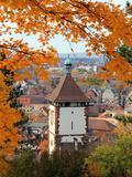 Autumn at Schlossberg, Schwabentor, Freiburg, Baden-Wurttemberg, Germany, Europe Photographic Print by Hans Peter Merten