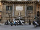 Quattro Canti (Four Corners), Palermo, Sicily, Italy, Europe Reproduction photographique par Stuart Black