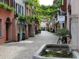Konvikstravue, Old Town, Freiburg, Baden-Wurttemberg, Germany, Europe Photographic Print by Hans Peter Merten