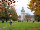 Palace and Gardens, Karlsruhe, Baden-Wurttemberg, Germany, Europe Impressão fotográfica por Hans Peter Merten
