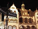 City Hall, Rathausplatz, Old Town, Freiburg, Baden-Wurttemberg, Germany, Europe Impressão fotográfica por Hans Peter Merten