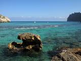 Cala De San Vicente, Mallorca, Balearic Islands, Spain, Mediterranean, Europe Impressão fotográfica por Hans Peter Merten