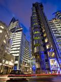 Lloyds Building, City of London, London, England, United Kingdom, Europe Lámina fotográfica por Ben Pipe