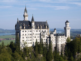 Neuschwanstein Castle, Schwangau, Allgau, Bavaria, Germany, Europe Photographic Print by Hans Peter Merten