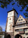 Schwabentor, Old Town, Freiburg, Baden-Wurttemberg, Germany, Europe Impressão fotográfica por Hans Peter Merten