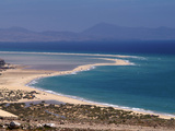 Playas De Sotavento, Fuerteventura, Canary Islands, Spain, Atlantic, Europe Photographic Print by Hans Peter Merten