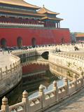 River of Gold, Forbidden City, Beijing, China, Asia Reproduction photographique par Kimberly Walker
