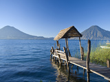 Santa Cruz La Laguna, Lake Atitlan, Western Highlands, Guatemala, Central America Fotografisk tryk af Ben Pipe