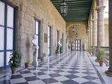 Palacio De Los Capitanes Generales, Havana, Cuba, West Indies, Central America Bedruckte aufgespannte Leinwand von Ben Pipe