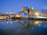 Guggenheim Museum, Bilbao, Euskal Herria, Euskadi, Spain, Europe Fotografisk tryk af Ben Pipe
