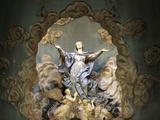 St. Mary's Assumption, Sainte-Marie Des Batignolles Church, Paris, France, Europe Photographic Print by  Godong