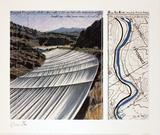 Over the River, project for the Arkansas River Edizioni premium di  Christo