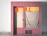 Wrapped Store Front Collectable Print by  Christo