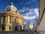The Radcliffe Camera Building, Oxford University, Oxford, Oxfordshire, England, United Kingdom, Eur Fotografisk tryk af Ben Pipe