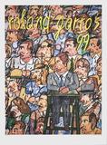 Roland Garros, 1999 Limited Edition by Antonio Segui