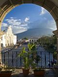 Parque Central, Antigua, Guatemala, Central America Lámina fotográfica por Ben Pipe