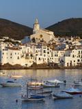 Harbour and Town, Cadaques, Costa Brava, Catalonia, Spain, Mediterranean, Europe Photographic Print by Stuart Black