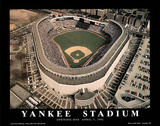 New York Yankees - Old Yankee Stadium, Opening Day, April 7, 1992 Poster von Mike Smith