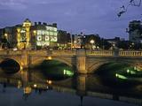 O'Connell Bridge, River Liffy, Dublin, Ireland Reproduction photographique Premium par David Barnes