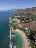 Koolina, Oahu, Hawaii, Usa Fotografisk trykk av Douglas Peebles