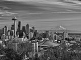 New Year's Day in Seattle, Washington, Usa Fotoprint van Richard Duval