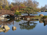 Hyde Park Neighborhood, Osaka Japanese Garden in Jackson Park, Chicago, Illinois, Usa Photographic Print by Alan Klehr