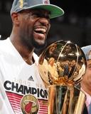 Miami, FL - June 21:  Miami Heat and Oklahoma City Thunder Game Five, LeBron James Photo by Andrew Bernstein