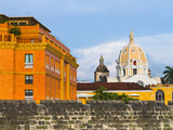 Basilica Menor Cathedral Constructed in 1575, Cartagena, Colombia Reproduction photographique par Micah Wright