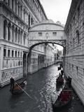 Bridge of Sighs, Doge's Palace, Venice, Italy Reproduction photographique par Jon Arnold