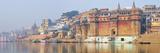The Ghats Along the Ganges River Banks, Varanasi, India Photographic Print by Mauricio Abreu