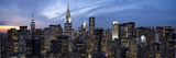 Midtown Skyline with Chrysler Building and Empire State Building, Manhattan, New York City, USA Photographic Print by Jon Arnold
