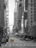 USA, New York, Manhattan, Midtown, 7th Avenue Fotografie-Druck von Alan Copson