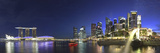Singapore, Merlion Park and Singapore Skyline Photographic Print by Michele Falzone