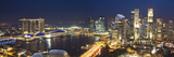 Central Business District and Marina Bay Sands Hotel, Singapore Photographic Print by Jon Arnold