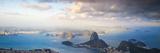 Brazil, Rio De Janeiro, Cosme Velho, View of Sugar Loaf from Cocovado Fotografisk trykk av Jane Sweeney