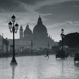 Piazza San Marco Looking across to Santa Maria Della Salute, Venice, Italy Photographic Print by Jon Arnold