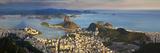 View over Sugarloaf Mountain and City Centre, Rio De Janeiro, Brazil Reproduction photographique par Peter Adams