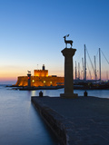 Rhodes Town, Rhodes, Greece Reproduction photographique par Doug Pearson
