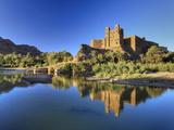 Morocco, Draa Valley, Ait Hamou Ou Said Kasbah Fotografisk tryk af Michele Falzone