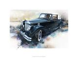 '50 Jaguar Reproduction giclée Premium par Bruce White